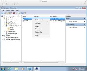windows 7 digitalocean change password